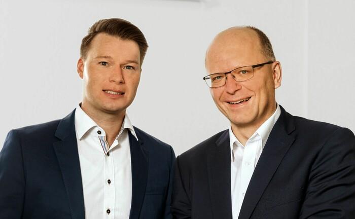 Von vier auf zwei Personen schrumpft der Vorstand der Vigo Krankenversicherung ab August 2020. Übrig bleiben: Micha Hildebrandt (li.) und Stefan Schumacher.|© Vigo Krankenversicherung