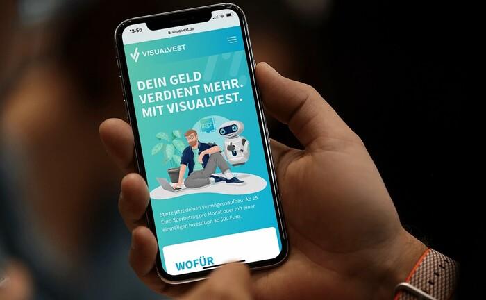 Startseite von Visualvest: Der genossenschaftliche Plattform-Anbieter knackt die Marke von 500 Millionen Euro Volumen.