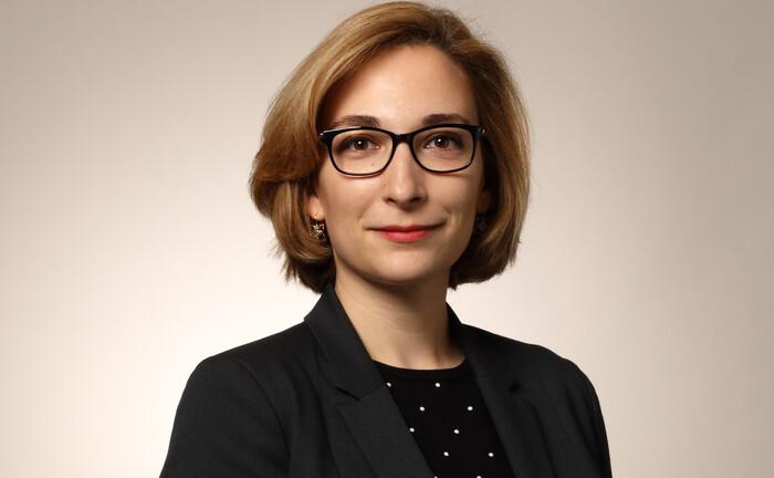 """Marie Niemczyk, Leiterin Versicherungsgeschäft: """"Wir verbessern die volkswirtschaftlichen Strukturen in Schwellenländern."""""""