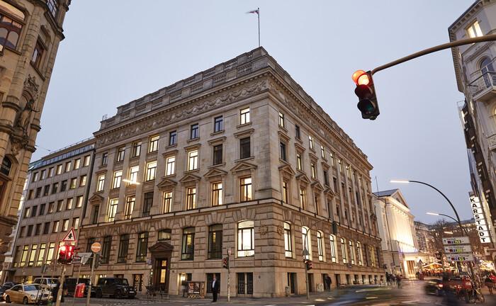 Firmensitz der Bank M.M. Warburg & CO in der Hamburger Ferdinandstraße. Ulrich Strobel hat das Institut in Richtung Bayerische Beteiligungsgesellschaft verlassen.