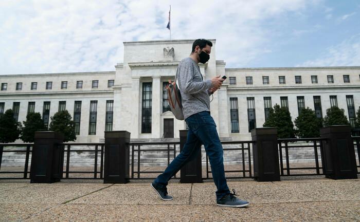 Federal Reserve in Washington: Die US-Notenbank kauft auch Unternehmensanleihen mit einem schlechten Rating – und stützt damit den Hochzinsmarkt.