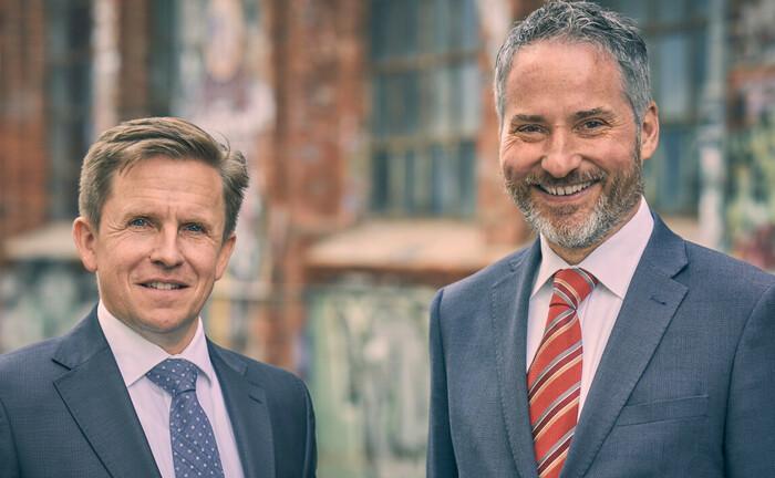 Thorsten Mohr (l.), Gründungsgesellschafter von Argentum, und Norbert Goerlitz, neuer Gesellschafter der Asset-Management-Boutique: Beide leiten seit August gemeinsam die Geschicke des Hamburger Unternehmens.