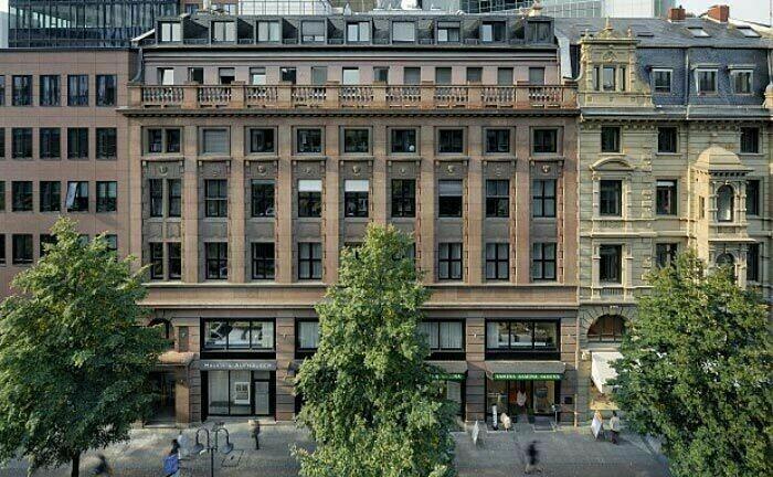 Zentrale von Hauck & Aufhäuser in Frankfurt: Ermittler durchsuchten unter anderem diese Büroräume der Privatbank auf Hinweise zu Cum-Ex-Vergehen.
