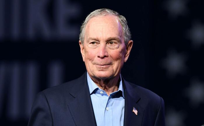 Michael Bloomberg während einer Wahlkampfveranstaltung in Florida: Der Politiker und Unternehmer beteiligt sich am Münchner Vermögensverwalter Scalable Capital.