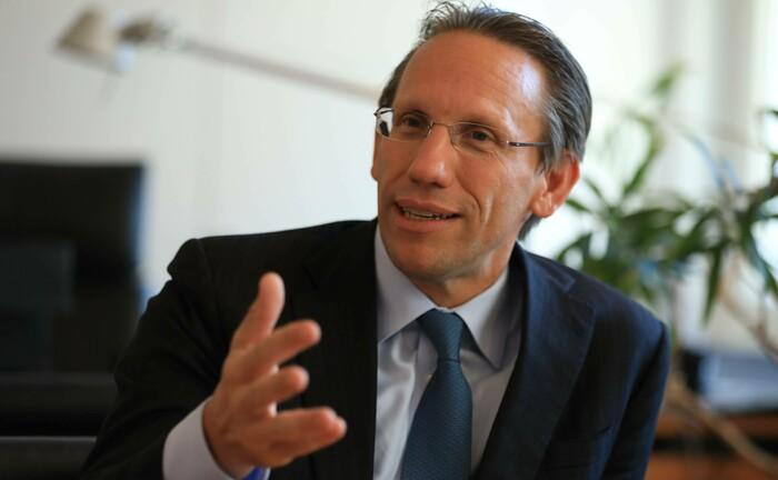 Jörg Kukies, Staatssekretär im Bundesministerium der Finanzen: Die Debüt-Emission soll bereits im September erfolgen.