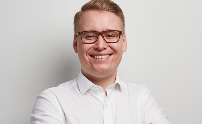 Paul Hülsmann, Chef und Gründer von Finexity: Das Hamburger Start-up will Anlegern kostengünstig und digital Zugang zu digitalen Sachwerten ermöglichen.