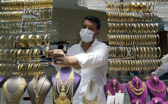 Goldhändler in Istanbul: In türkischer Lira gerechnet hat sich der Preis des Edelmetalls seit 2010 nahezu verzehnfacht.