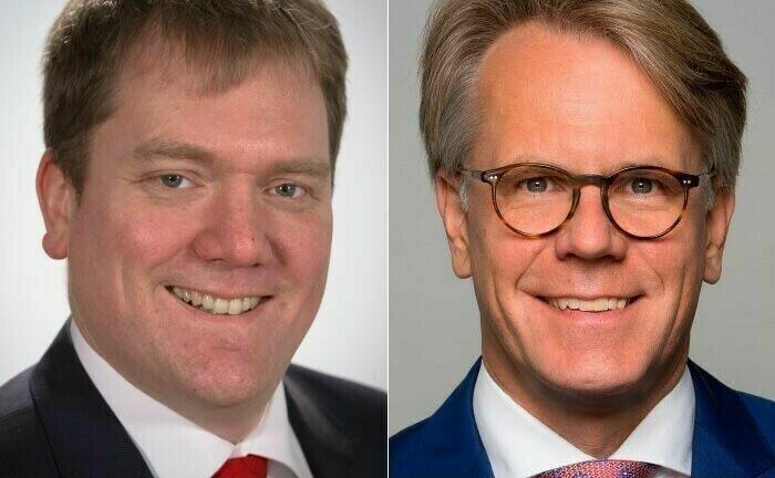 Gösta Jamin (l.), Professor an der Hochschule für Wirtschaft und Gesellschaft Ludwigshafen, und Norbert Paddags, Geschäftsführer der Dr. Paddags Consulting: Die beiden Experten halten eine gute Dax-Performance für trügerisch, wenn sich dadurch an der grundlegenden Ausrichtung des Private Banking nichts ändert.