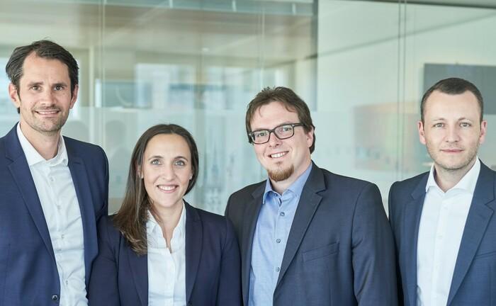 Das Experten-Team von ACM (v.l.): Stephan Grimm, Viktoria Heyer, Nic Müller, Jens Holzhäuser.