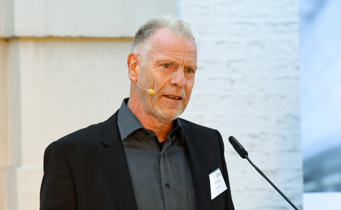 Schirmherr und Gesicht der Finpro: Professor Dr. Fred Wagner von der Universität Leipzig.
