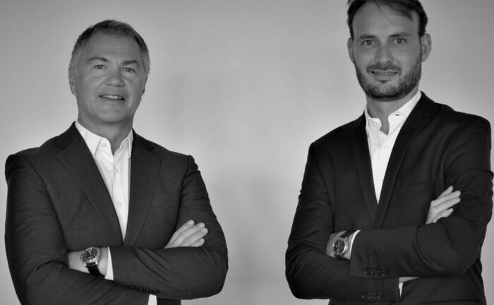 Tom Stubbe Olsen (li.) legt mit seiner Fondsboutique Mensarius einen Nachfolger für den Nordea European Value Fund auf. Mit von der Partie ist Cédric Jacque. © Mensarius