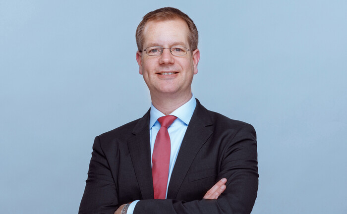 Ist seit Februar 2018 Vorstand beim Dachfondsanbieter Sauren: Michael Viehmann. |©  Intuitive Fotografie