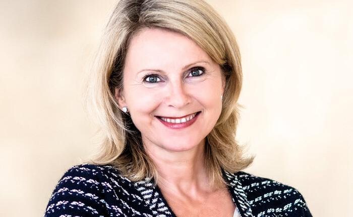 Christine Novakovic, Europachefin der UBS: Die Bankerin gibt Auskunft über das bisherige Ergebnis der Bank im deutschen Wealth Management, was recht erfreulich aussieht.|© UBS
