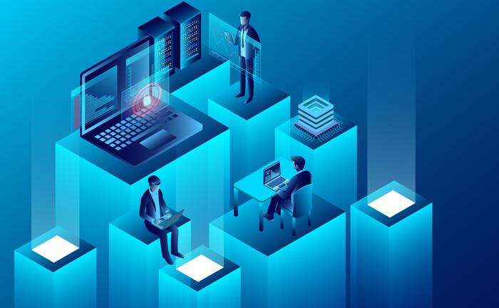 Die Digitalisierung hat den Wertpapierhandel revolutioiert. Spielte sich das Kerngeschäft der Verwahrstellen früher im Verborgenen ab, treten sie heute als Datenmanager und Berater in den Vordergrund und unterstützen institutionelle Investoren zum Beispiel im Risikomanagement.