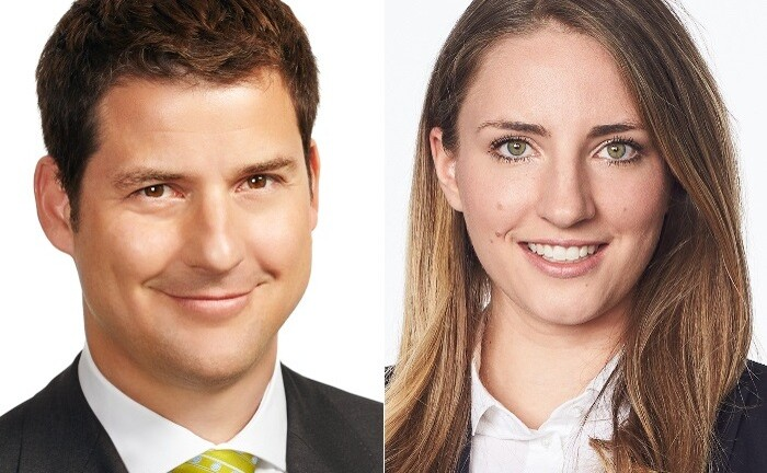 Lisa Beck und Christoph Philipp, Rechtsanwälte bei P+P Pöllath + Partners am Standort München: Im Schwerpunkt beraten beide Familienunternehmern im Rahmen der Unternehmensnachfolge.