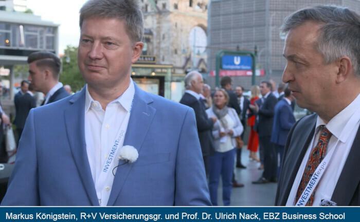 Im Doppelinterview: Markus Königstein, Bereichsleiter Immobilien und Infrastruktur der R+V, und Ulrich Nack von der EBZ Business School.