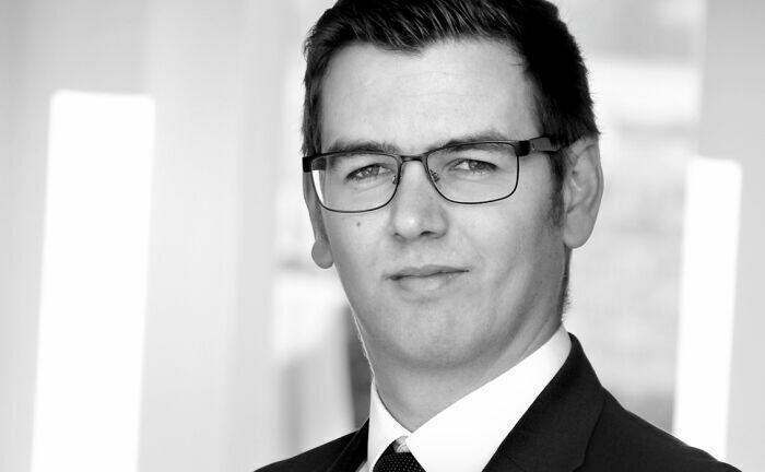 Arbeitet seit Oktober 2020 für den Fonds zur Finanzierung der kerntechnischen Entsorgung in Berlin: Erik Baas.