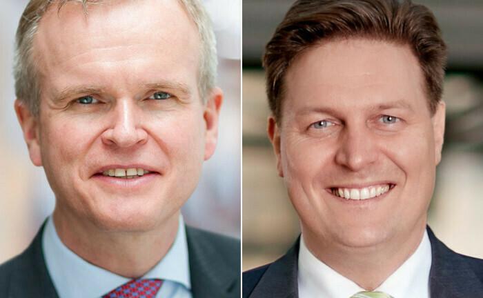 Einer geht, einer bleibt: Volker Heinke (li.) und Ulrich Scholten.