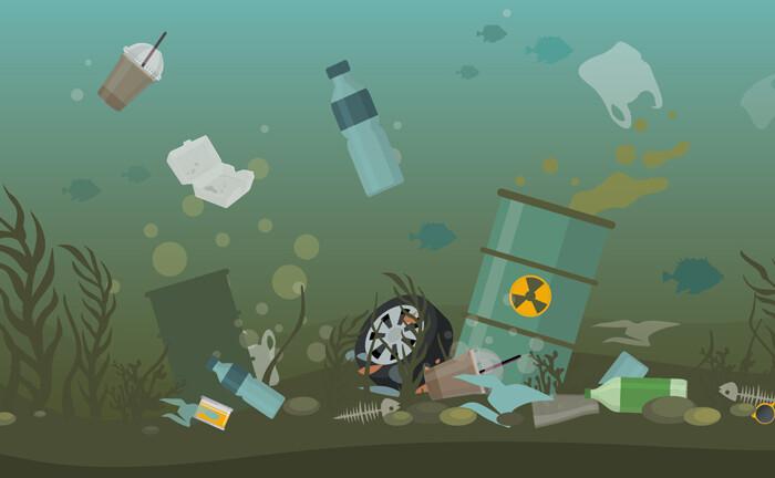 Wie Menschen die Welt mit Plastik zumüllen