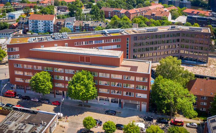Renditequelle: Büroobjekte an der Fuhlsbüttler Straße in Hamburg.
