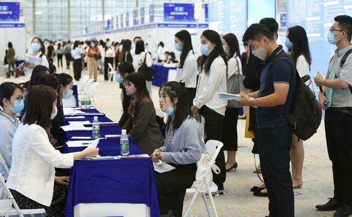 Jobmesse in Shenzhen
