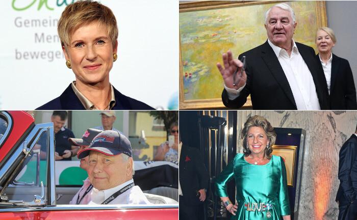 Gehören zu den 25 vermögendsten Bundesbürgern