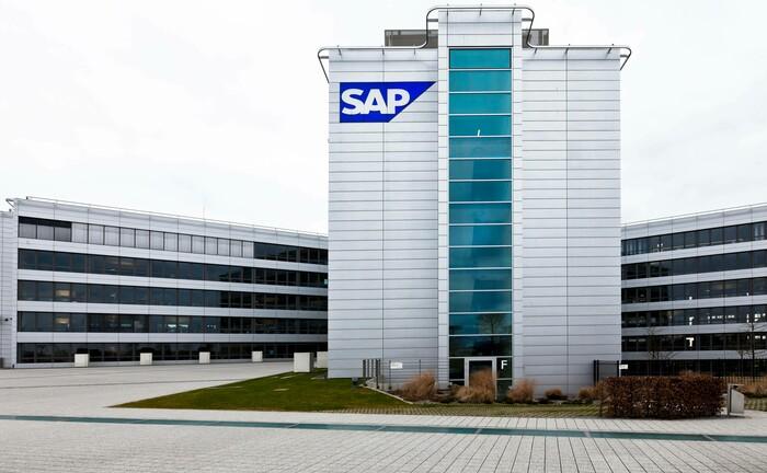 Zentrale des Dax-Schwergewichts SAP in Walldorf