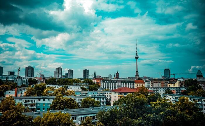 Berlin mit Blick auf den Fernsehturm