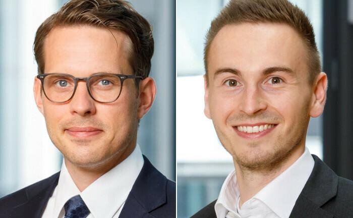 Dr. Philipp Weiten (li.) und Patrick Grzella