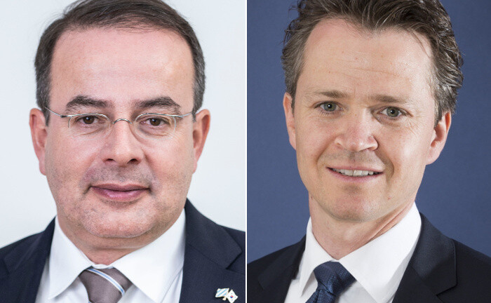 Thomas Elster und Philipp Hendel