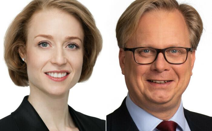Susan Kasser und Pieter D'Hoore
