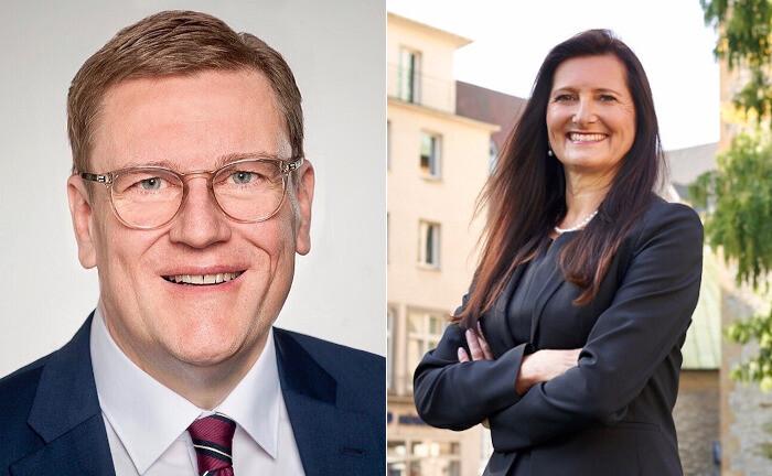 Michael Rolf und Gabriele Bracht-Johanning