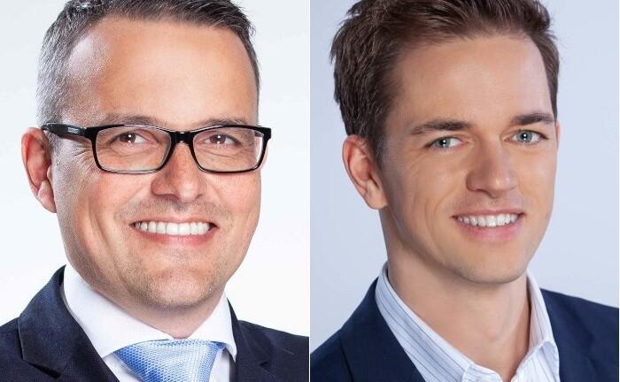 Stefan Kramer (l.) und David Houdek, Portfoliomanager bei der Capitell-Vermögensmanagement