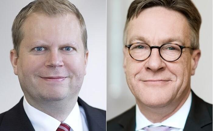 Jörn Matthias Häuser (l.) und Henning Heuerding, Vorstandsmitglieder des Deutsche Oppenheim Family Office
