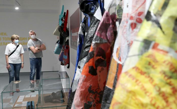 Eine Ausstellung in Moskau zeigt, was sich aus Altplastik herstellen lässt