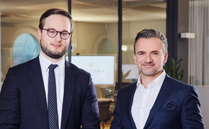 Alexander Köster (li.) und Stephan Buchwald vom Kontora Family Office