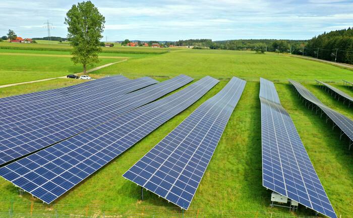 Solarpark im Allgäu