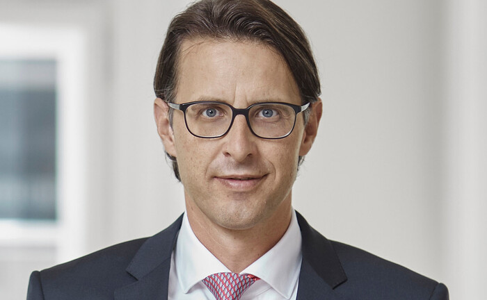 Nils Kottke, Vorstandsmitglied beim Bankhaus Carl Spängler