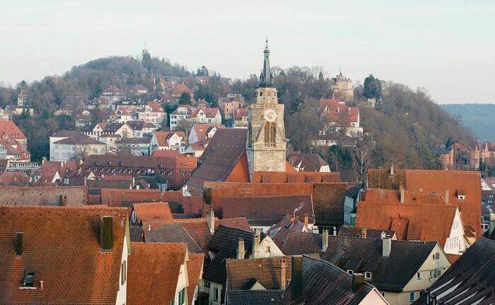 Das beschauliche Tübingen in Baden-Württemberg