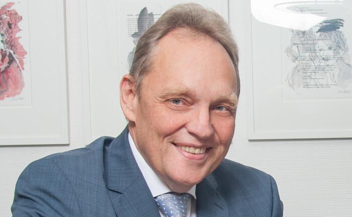 Manfred Bayer, Vorstandsvorsitzender des Bundesverbands pauschaldotierter Unterstützungskassen