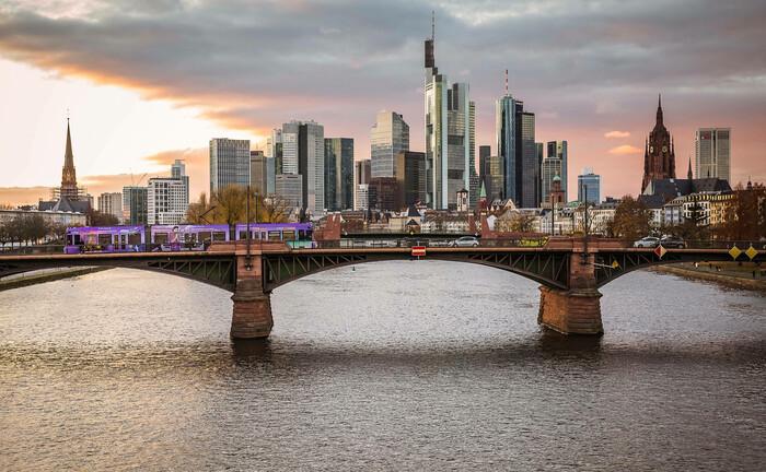 Bankenviertel von Frankfurt/Main