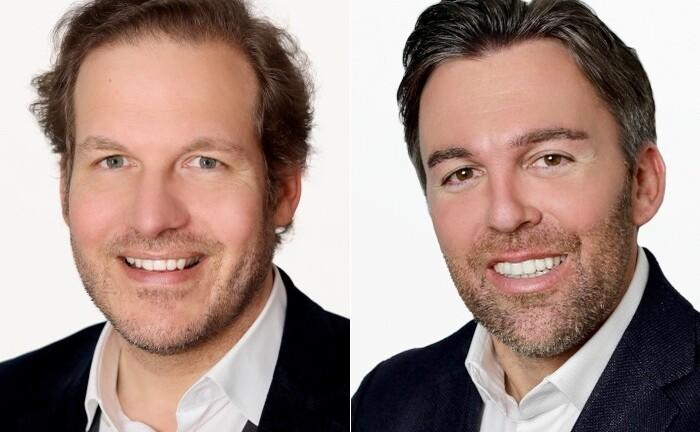 Georg Stampfl (r.) und Michael Rohrmair, Gründer und Geschäftsführer von Mezzalite