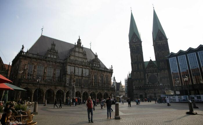 Bremer Innenstadt mit Rathaus und Dom