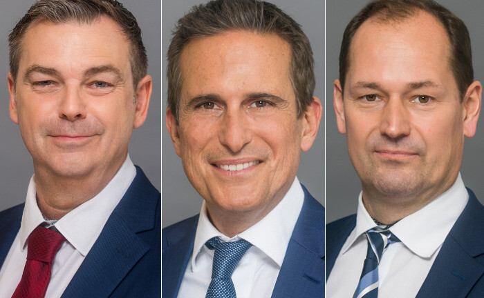 Christian Gau, Robert Rosenzweig und Andreas Rakel