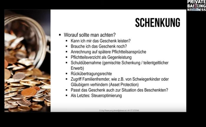 Screenshot aus der Master Class mit Jörg Plesse