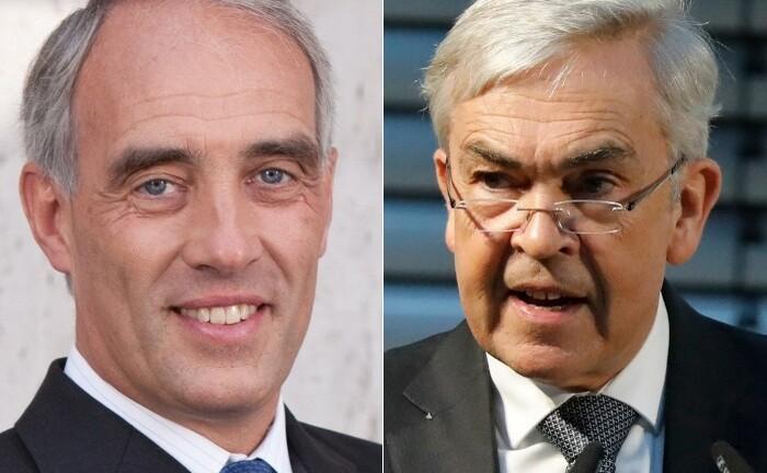 Dr. Olaf Huth (l.) und Prof. Dr. Jochen Lüdicke, Gründer des Finanzdienstleisters Huth & Lüdicke