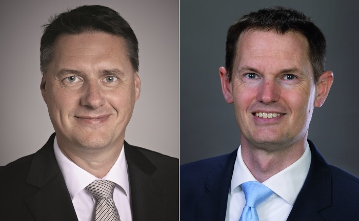 Matthias Rathgen (li.) und Boris Jurczyk von der Auretas Family Trust