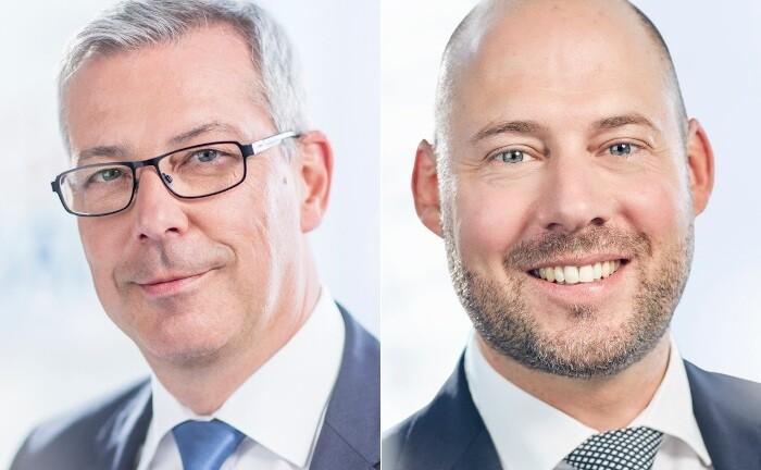 Axel Fiedler (l.) und Martin Wolnik, zusammen mehrere Jahre im Private Banking der Berliner Volksbank tätig
