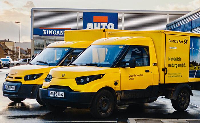 Fahrzeuge der Deutschen Post