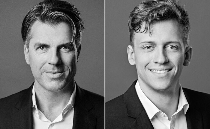 Christoph Benner (li.) und Benedikt Kirsch von Chom Capital: ESG und fundamentales Portfoliomanagement gehen bei der Fondsboutique Hand in Hand|© Chom Capital
